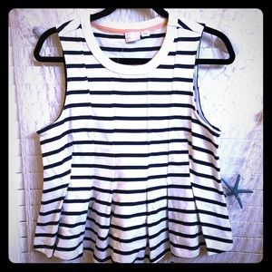 Anthropologie Postmark top new with tags